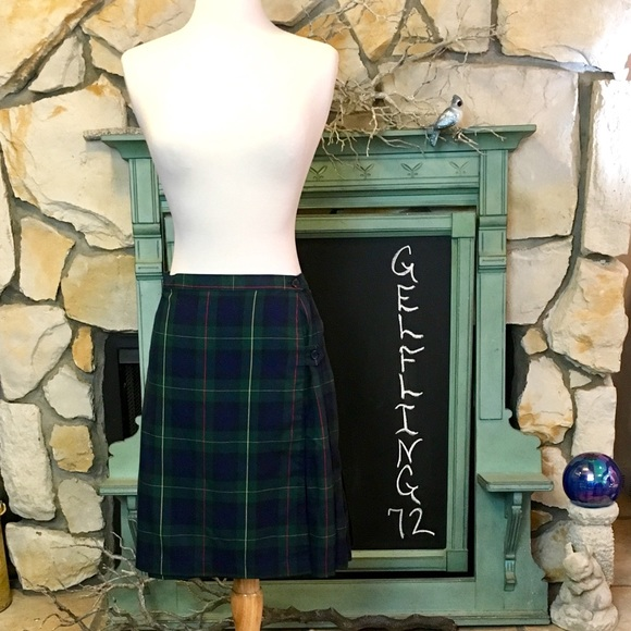 Lands' End Dresses & Skirts - Lands' End School Uniform Plaid A-Line Skirt